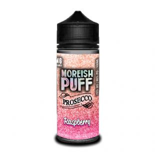 Moreish Puff Prosecco - Raspberry E-liquid 120ML Shortfill